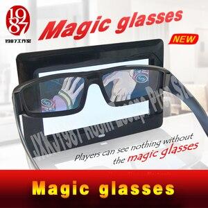 Image 1 - 新しいエスケープルーム小道具マジックメガネ魔法を見つけるメガネに見えない手がかり JXKJ1987 表示され実生活ルームエスケープ