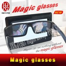NIEUWE Escape room prop Magic bril vinden de magic bril om de onzichtbare aanwijzingen verschijnen JXKJ1987 echte leven kamer escape