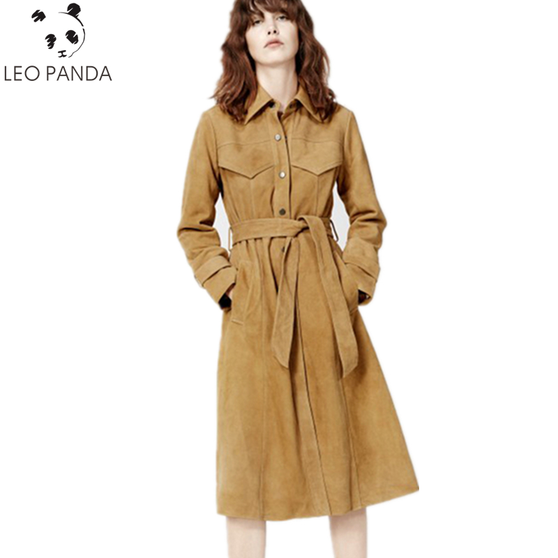 Online Get Cheap Ladies Long Leather Coat -Aliexpress.com ...