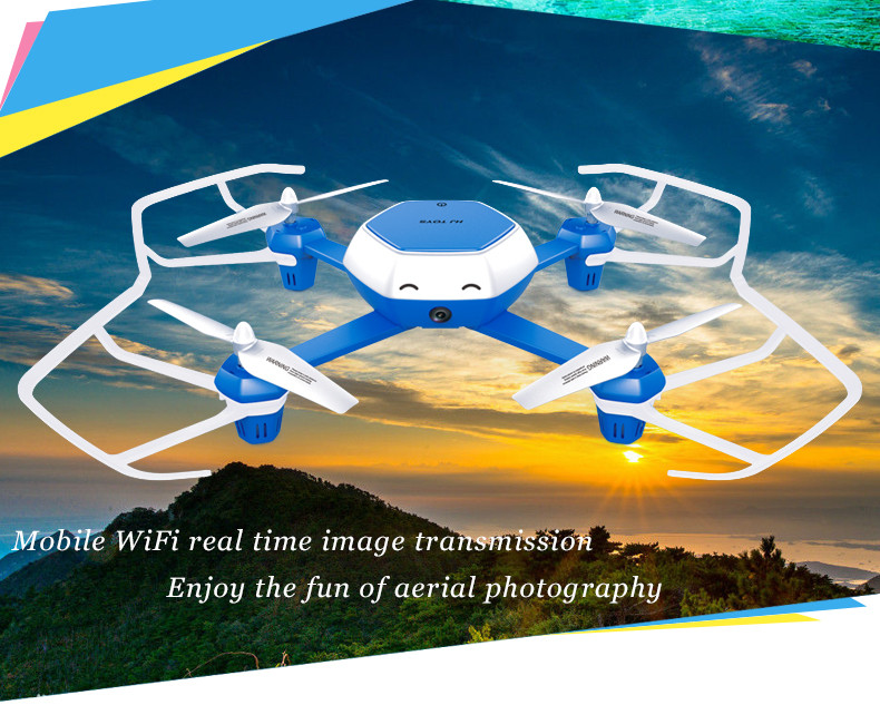 drone W606-6 with 2 battery Quadcopter with HD Camera Altitude Hold Headless mode 2.4G 4CH 6 Axis Altitude Hold rc aircraft Toys jjrc h39wh h39 foldable rc quadcopter with 720p wifi hd camera altitude hold headless mode 3d flip app control rc drone