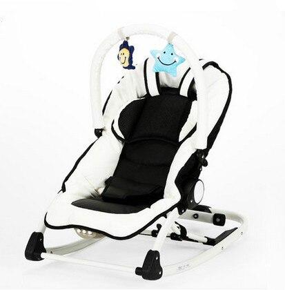 Ребенок электрическая кресло-качалка кресло успокоить стул многофункциональный музыка шейкер bb детская кроватка ребенка спать