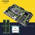 HUANAN ZHI X79 материнская плата комплект X79 LGA2011 материнская плата с M.2 слот Процессор Intel Ксеон E5 2670 C2 SR0KX Оперативная память 16 Гб (2*8G) 1600 rec