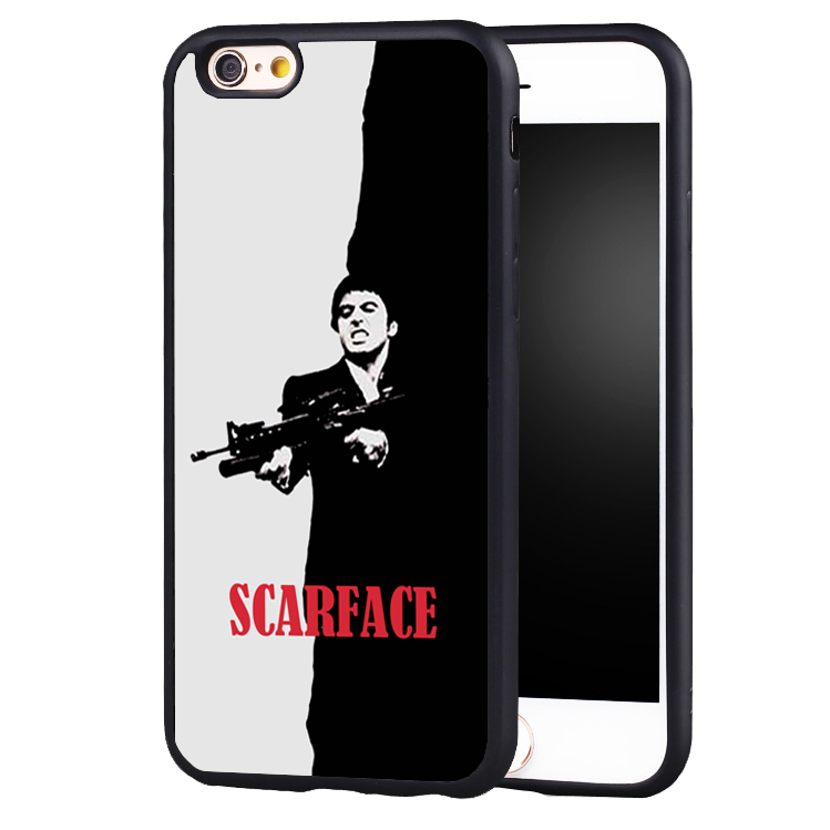 Scarface 1983 film Al Pacino movie poster Tpu Soft ... |Scarface Phone Case