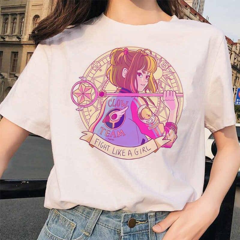 Feminist Tshirt Graphic Print Girl Power T Shirt Top Harajuku Shirts Women Female Kawaii Feminism Summer T-shirt Tee Ulzzang