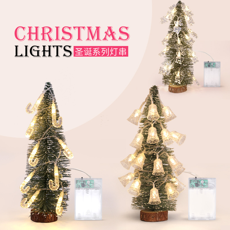 Outdoor Lighting Christmas Decoration Series Lantern LED Net Red Bar Garden Tree Ins Wind Girl Light String Decorative tree ligh худи print bar christmas tree gold