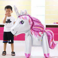 1pcs Unicorn Party Balloon Decoration Elephant Birthday Baby Shower Wedding Child Toy