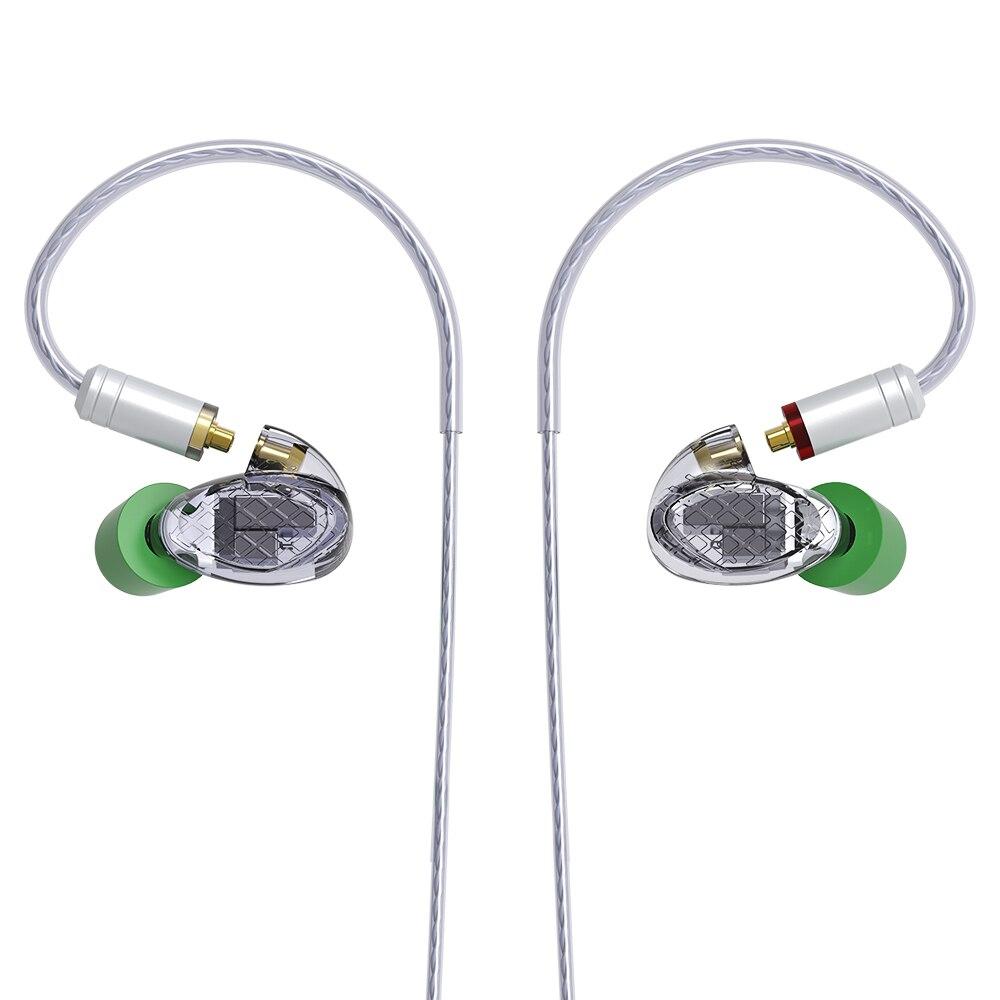 Missaudio Yinyoo T500 5BA Custom In ear Earphones 5 Balanced Armature HiFi DJ Earbud Monitor Sports