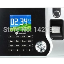 Biometric Fingerprint Recorder Punch-Reader-Machine Attendance Employee Time Electronic