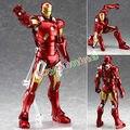 Alta calidad los vengadores Marvel Iron Man 3 figura de acción de superhéroe Iron Man Tonny marcos PVC figura de juguete 20 cm regalo navidad