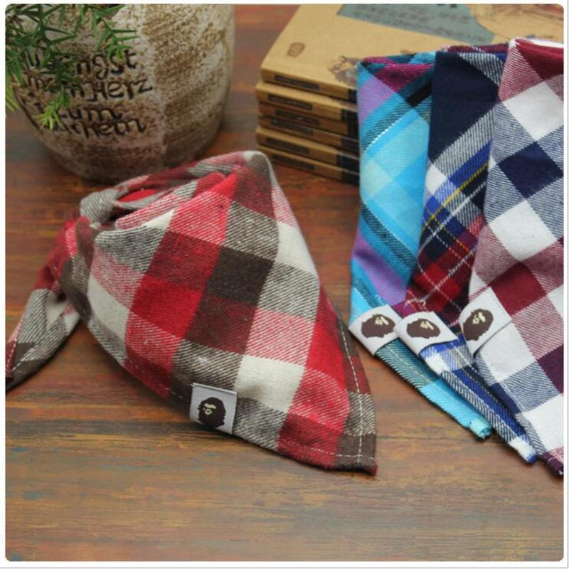 1pcs Fashion Scotland Style baby bib High Quality Babadores Para Bebe Infant Saliva Towel For Boys And Girls infant scarf