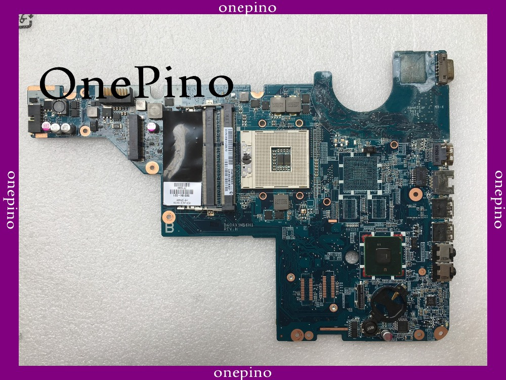 595184-001 DA0AX1MB6H1 HM55 Fit For CQ62 CQ42 G62 G42 G72 Laptop Motherboard  Tested Free Shipping