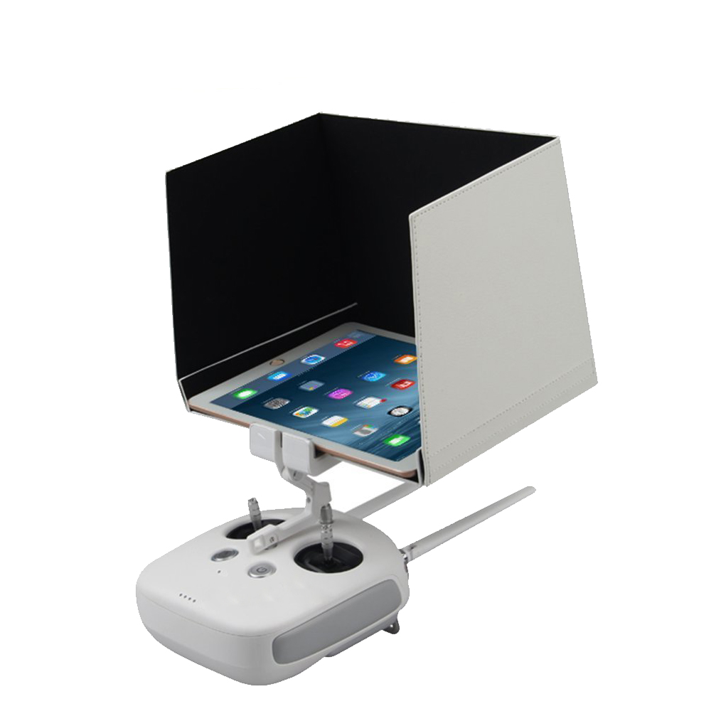 DJI Phantom 4/3 Inspire 1/2 Remote Contorl FPV Monitor 5.5 7.9 9.7 Sun Hood Sunshade Hood for Tablet White dji phantom 4 tablet sunshade 7 9 ipad mini sun hood light barrier for dji phantom 3 inspire 1 fpv 100