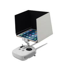 DJI Phantom 4/3 Inspire 1/2 Remote Contorl FPV Monitor 5.5 7.9  9.7 Sun Hood Sunshade Hood for iPad Air/Air 2 Tablet White цена