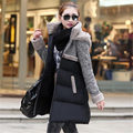 2015 Winter Parkas Coat Girls Long Big Yards Women Hooded Cloak Jacket Cashmere Woolen Cotton A-line Outerwear Coat WY238