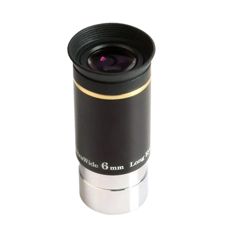 Celestron 66 degrees Ultra Wide 6mm telescope eyepiece parts uw6mm wide angle eyepiece astronomical telescope parts Lahore