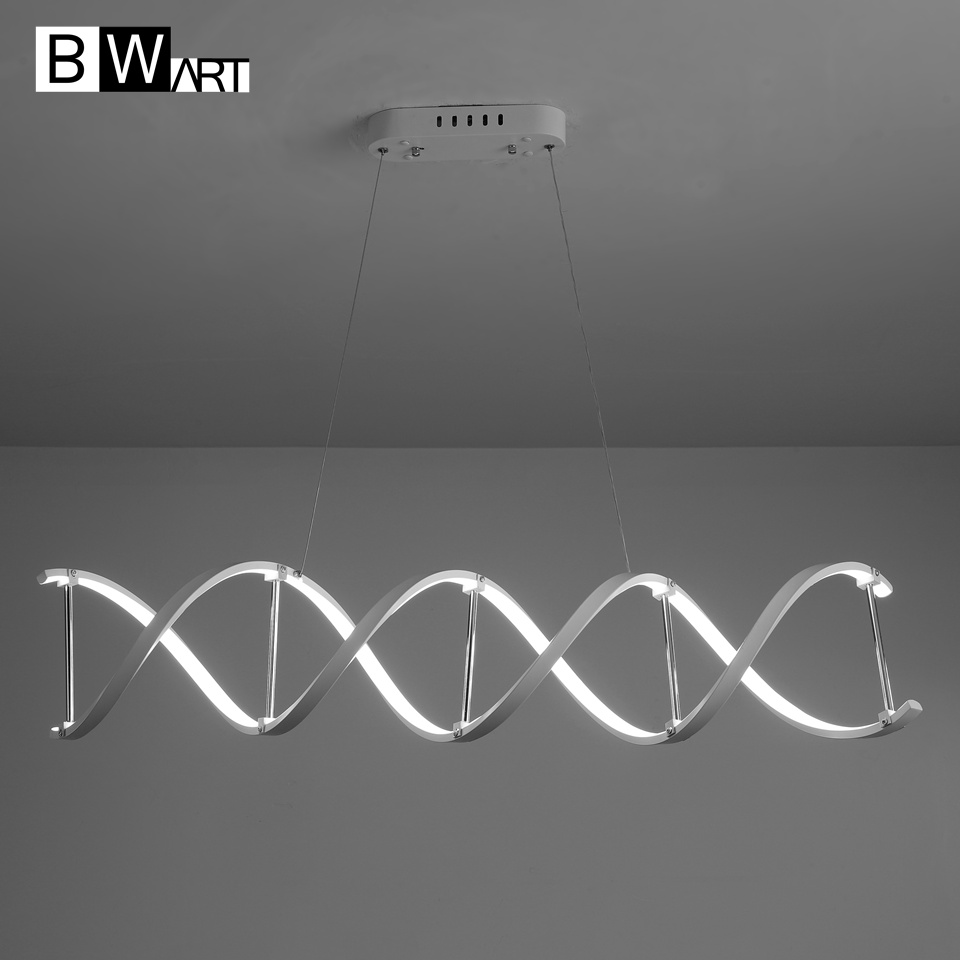 BWART Modern chandelier led lighting White pendant loft chandelier lamp fixture for living room bedroom Dining Room OfficeBWART Modern chandelier led lighting White pendant loft chandelier lamp fixture for living room bedroom Dining Room Office