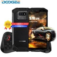DOOGEE IP68 Водонепроницаемый DOOGEE S70 Lite мобильный телефон беспроводной зарядки NFC 5500 мАч 12V2AQuick Charge 5,99 ''MTK P23 Восьмиядерный 4 Гб 64 ГБ