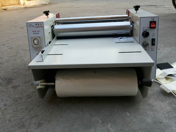 hot roll hot cold  laminating machine laminator DC380 купить