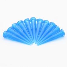 100 шт 22 г TT Ассорти пластиковые конические гладкоструйные конические иглы/наконечники набор наконечников