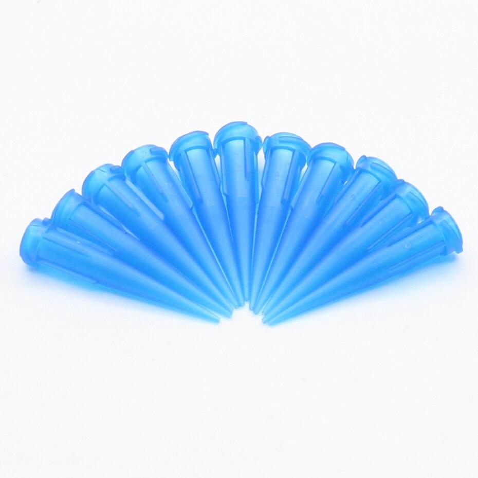 100 Stücke 22g Tt Sortierte Kunststoff Konische Smoothflow Verjüngt Nadel/tipps Verzichten Tipps Set
