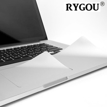 RYGOU 11.6 Guard with Trackpad Skin Protector Sticker Cover for MacBook air 11 inch A1370 A1465 Ultra Thin Metalish Silver Flim(China)