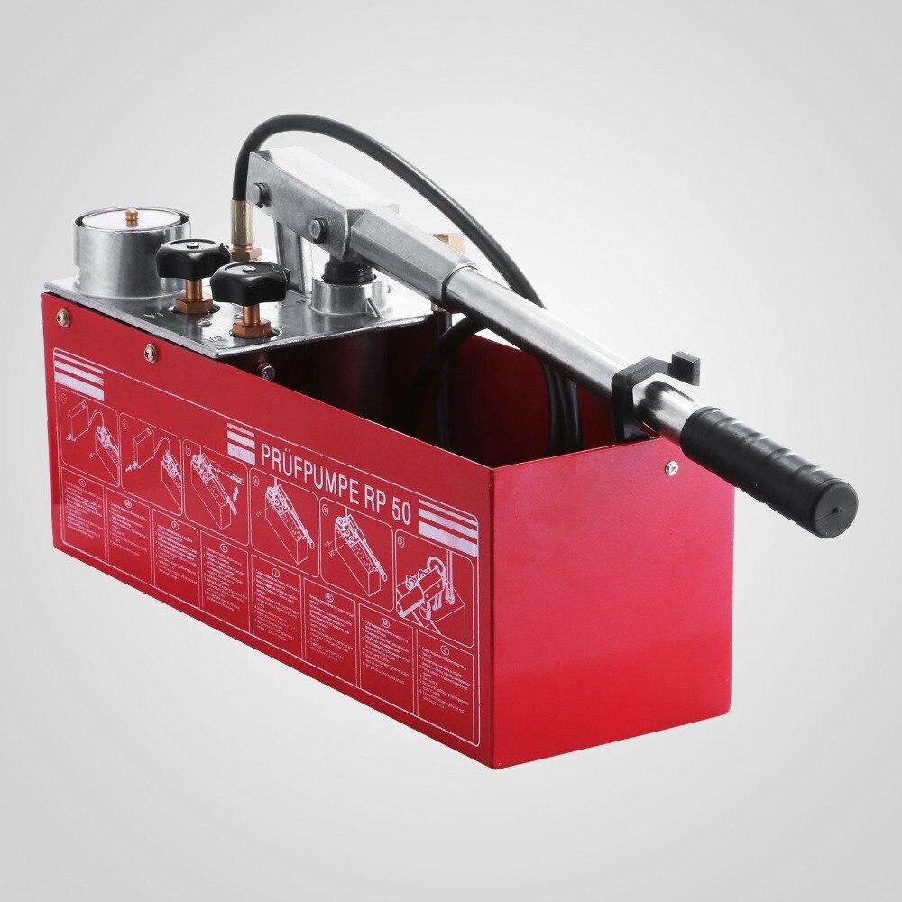 Bomba de teste de pressão hidrostática 12l