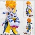 Digital de Digimon figura Colletion modelo ISHIDA YAMATO e Digimon Gabumon PVC figura de ação brinquedo