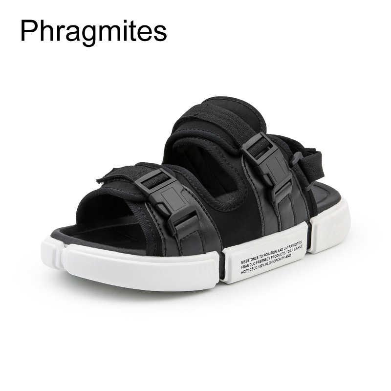 Phragmites 2019 Nuovi Sandali Degli Uomini di Modo Coreano Casual Sandali di Sport di Grande Formato di Estate Scarpe da Spiaggia Pantofole Traspirante Presentazioni Aziende Produttrici Giochi