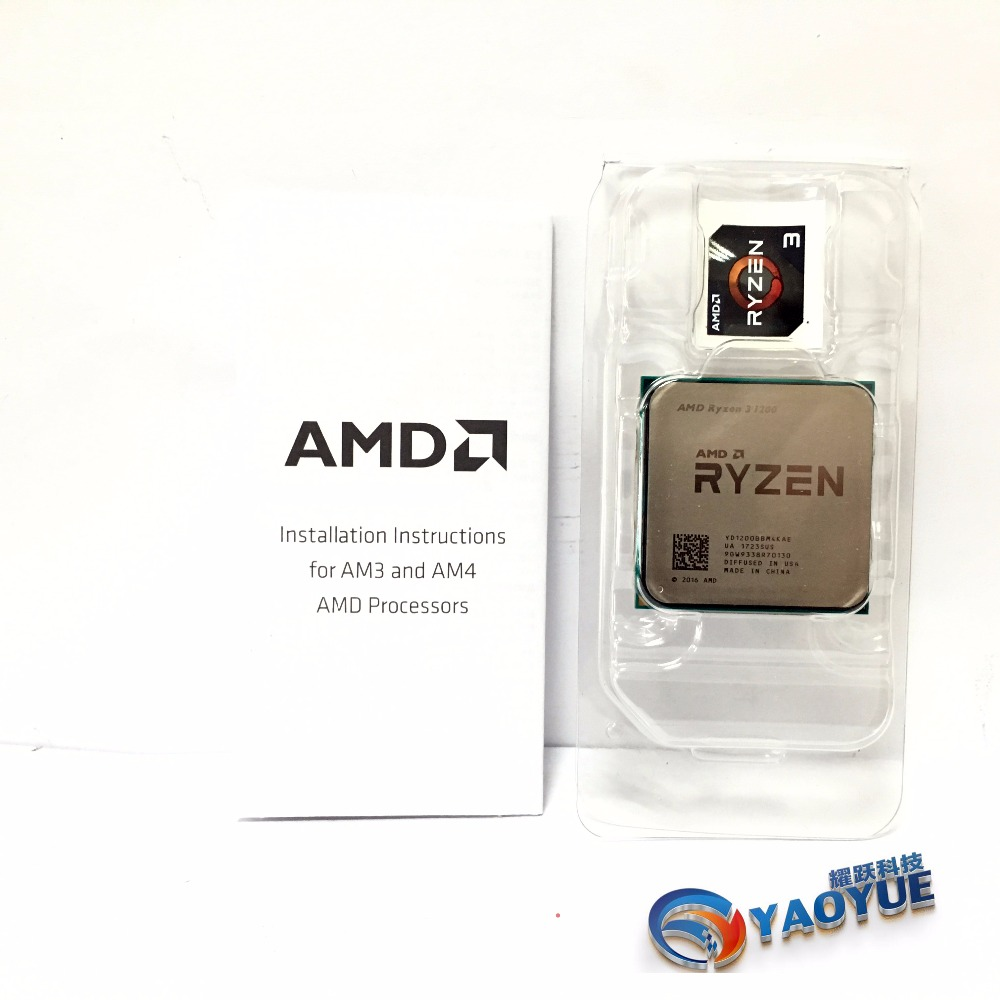 AMD Ryzen 3 1200 PC Computer Quad Core processor AM4 Desktop Boxed CPU-in CPUs from Computer & Office    3