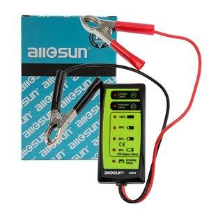 Image 4 - All Sun GK503 12V 6 LED Display Automotive Vehicle Battery Tester Charger Dinagnostic Analyzer Cranking Check GK503