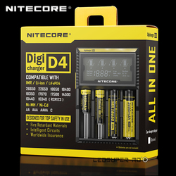 Factory Price New Benchmark in Intelligent Digicharger D4 Balance Lipo Battery Nitecore Charger AA