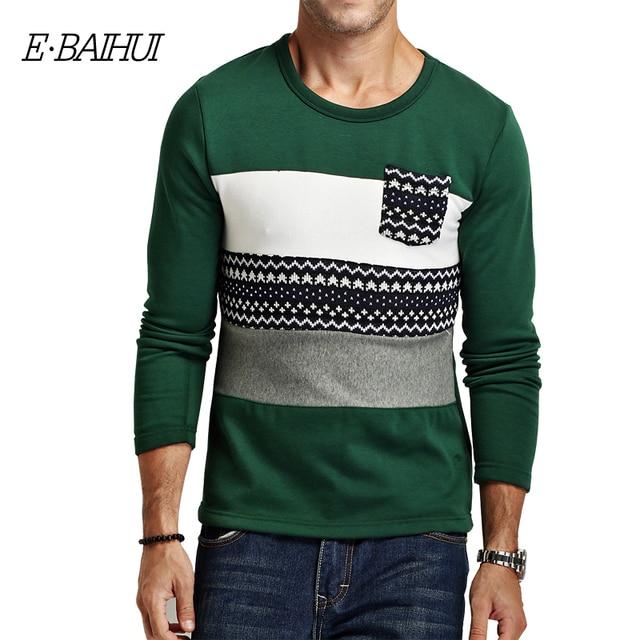 E-BAIHUI brand mens  underwear  Clothing wool  male autumn / winter hoodies and sweatshirts hoodies men  JR036