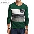 E-BAIHUI marca roupa interior dos homens de Roupas de lã masculina outono/inverno hoodies e moletons hoodies homens JR036