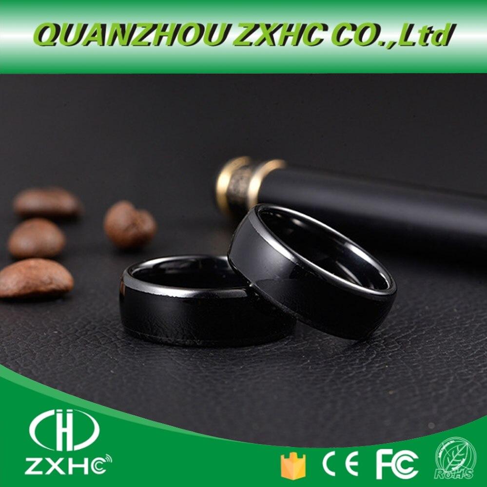 EM4305 ODER UID chip rewrite 125KHZ oder 13,56 MHZ RFID Keramik Smart Finger B Ring Tragen für Männer oder frauen