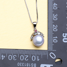 Sterling Silver Beautiful Pearl Pendant Necklace For Women