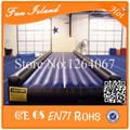 Бесплатная доставка 10 м надувные сушильная трек, Надувные тренажерный зал коврик, Надувной воздушный трек коврик для продажи