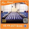 Envío gratis 10 m caída inflable pista, inflable estera de la gimnasia, riel de aire inflable estera venta