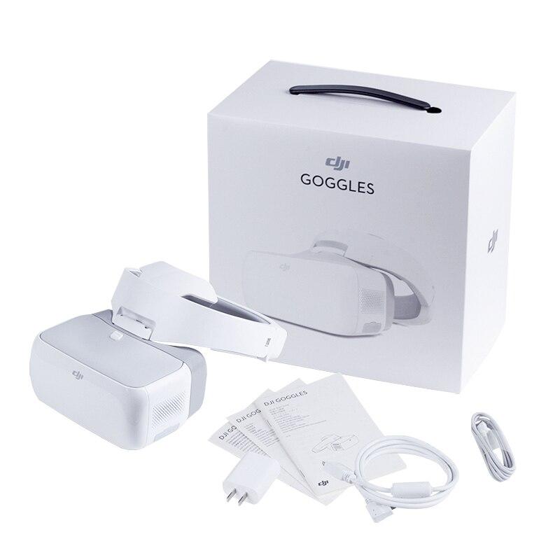 DJI Goggles FPV HD VR Glasses for DJI Spark Mavic Pro Phantom 4 Inspire Drones 1920x1080 Screens Head Tracking dji аккумулятор 4s1p для квадрокоптера phantom 4 pro 5870mah