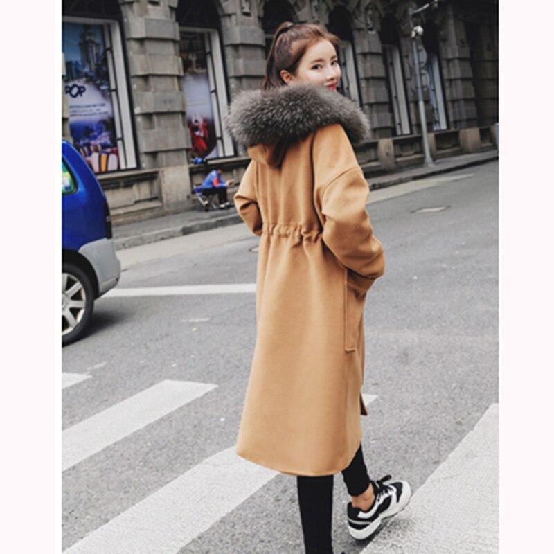 Mode Grands Cachemire En Caramel Laine Gamme Automne gris 2018 De Lu433 Lâche Haut Manteau Colour Tempérament Nouveau Hiver Moyennement Longs Femmes Chantiers 6WEWF7qwA