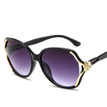 Sunglasses Classic Brand Flower Frame Women Sun Glasses Fashion 2018 Designer Ladies for V400