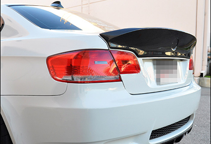 E92 M3 Trunk Big Spoiler Wing Lip for BMW E92 M3 2006-2013 Carbon Fiber CLS Style