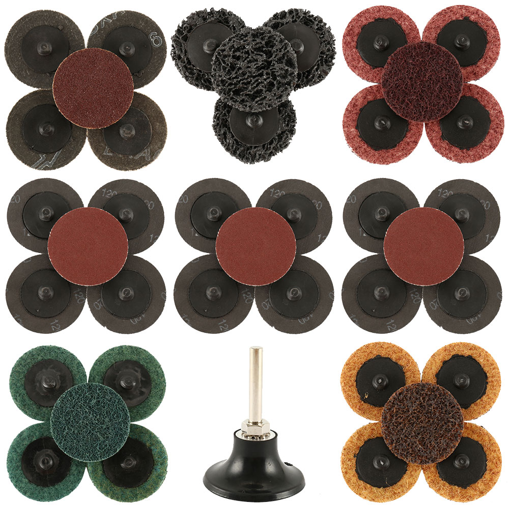 35 PCS High quility disc circular grinding wheel forpaint removal, rust removal, glue or adhesive removal polishing Accessories