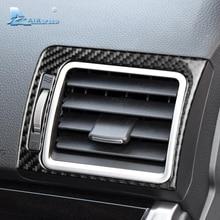 Airspeed для Subaru Forester аксессуары 2015-2018 карбоновое волокно Автомобильный интерьер Кондиционер Выход вентиляционная крышка Накладка наклейки