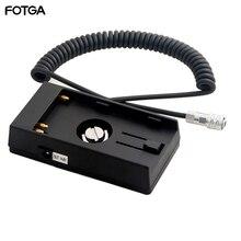 FOTGA 14,8 V U60 Batterie Basis Halter Halterung Adapter Platte für BMPCC 4K BMPCC4K Kameras BP U30 U60 U90