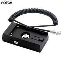FOTGA 14.8V U60 バッテリーベースホルダーマウントアダプタープレート BMPCC 4 18K BMPCC4K カメラ BP U30 U60 U90