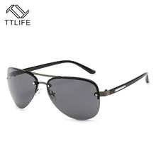TTLIFE Retro Brand Designer Men Polarized Sunglasses Square Classic Shades Sun Glasses Outdoor Eyewear YJHH0127
