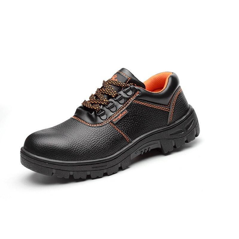 Punção Prova AC13007 Calçados de Segurança Biqueira De Aço Sapatos de Trabalho dos homens Sapatos 2019 Acecare Industrial E Construção Civil-F