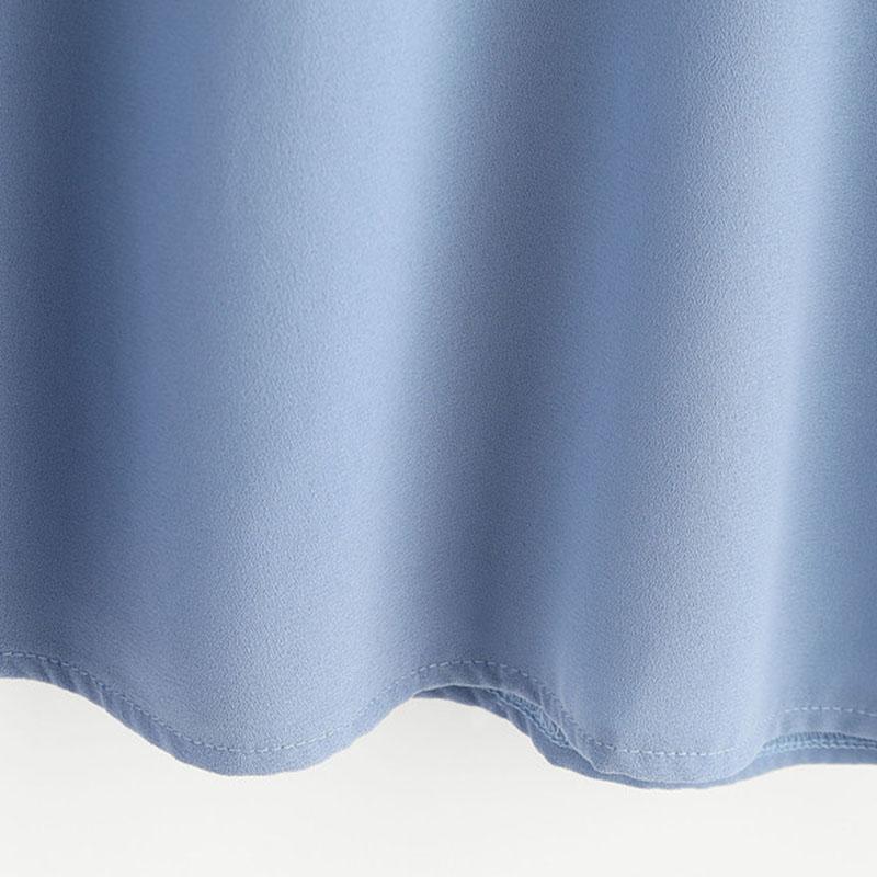 HTB1WtrgRXXXXXa0apXXq6xXFXXXu - Flower Embroidered Summer Blue Short Sleeve Shirt PTC 166