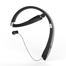 Suicen SX 991 Sports Bluetooth Headphones Retractable Foldable Neckband Wireless font b Headset b font Anti
