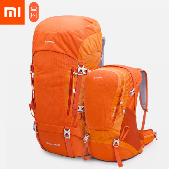 New Xiaomi Mijia Zaofeng HC Outdoor Mountaineering Bag HW110101 HC Carrying System Lightweight For Hiking Travel